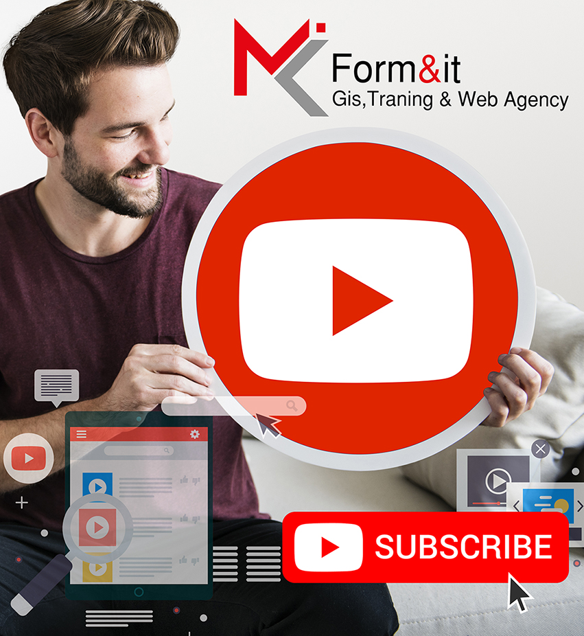 Seguici su #Youtube || Form&it - Gis, Training & Web Agency